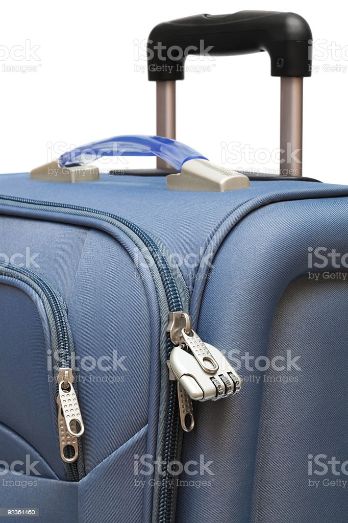 modern large suitcase royalty-free stock photo