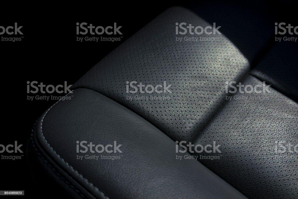 Moderne Leder Autositz – Foto