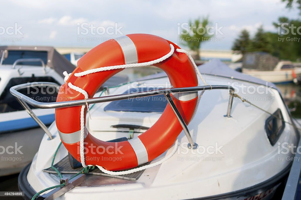 Modern lifebelt royalty-free stock photo