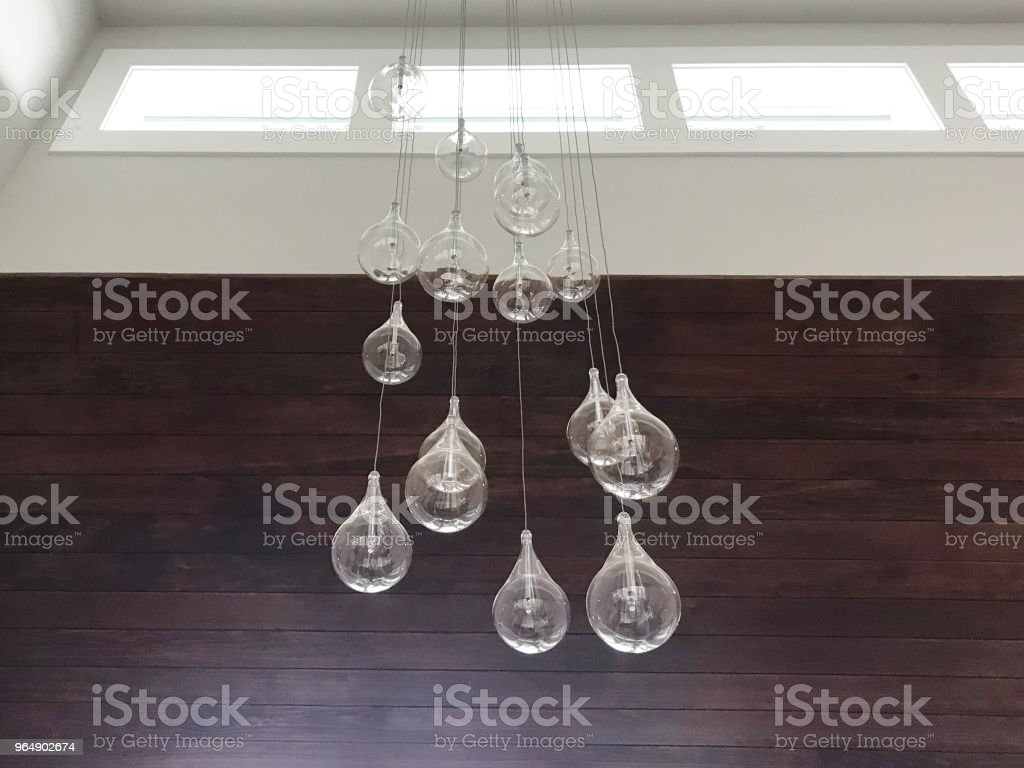Modern Light Fixture royalty-free stock photo
