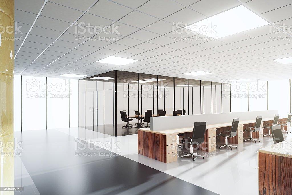 Illuminazione Ufficio Open Space : Luce e moderno open space ufficio con sala congressi fotografie