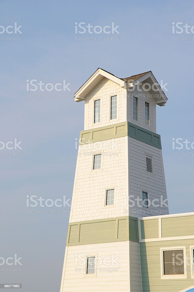 Modern Lighthouse royalty-free stock photo