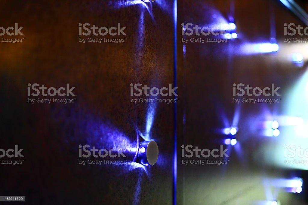 Modern lighting decor as background royalty-free stock photo