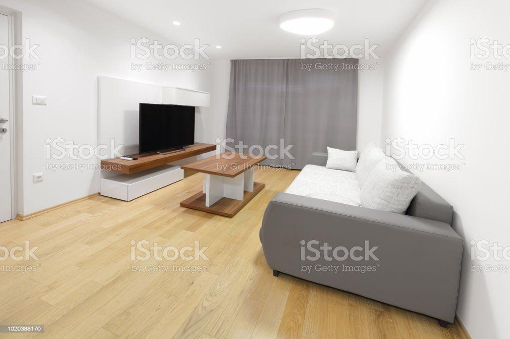Modernes Wohnen Oom Interieur Lizenzfreies Stock Foto
