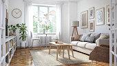 istock Modern living room interior 1227178152