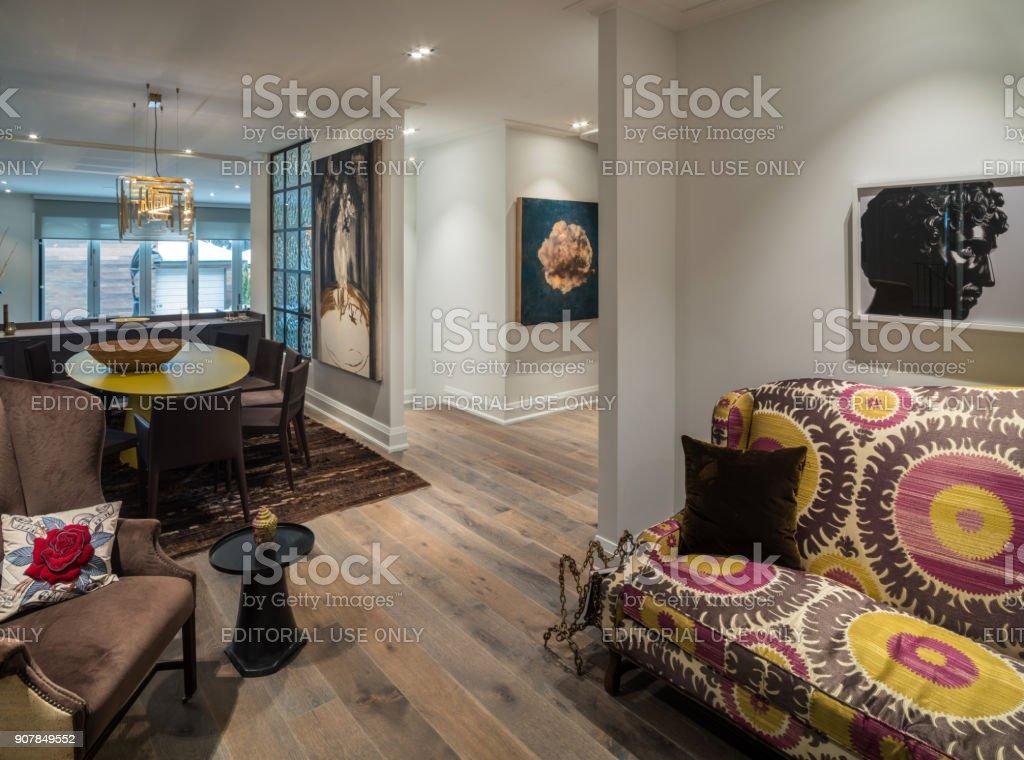 Modernen Wohnzimmer Interior – Foto