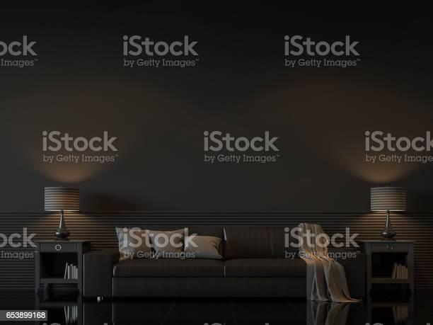 Modern living room interior with black wall minimal style 3d image picture id653899168?b=1&k=6&m=653899168&s=612x612&h=eqvw0rcrx t2cxmfrwgg0bxa2ix3qok 7qdba4akog4=