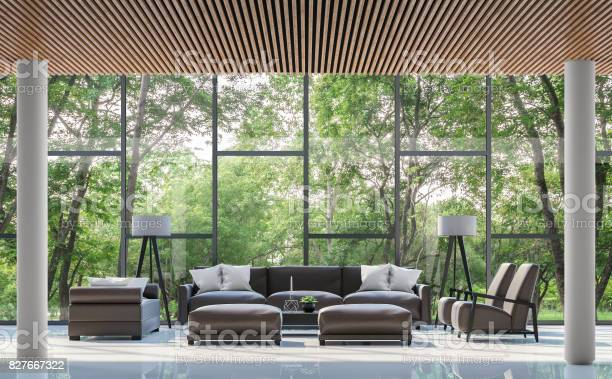 Modern living room interior with garden view 3d rendering image picture id827667322?b=1&k=6&m=827667322&s=612x612&h=somaahplqtooinhln56sloj6e1l6nsckvqdzw fznui=