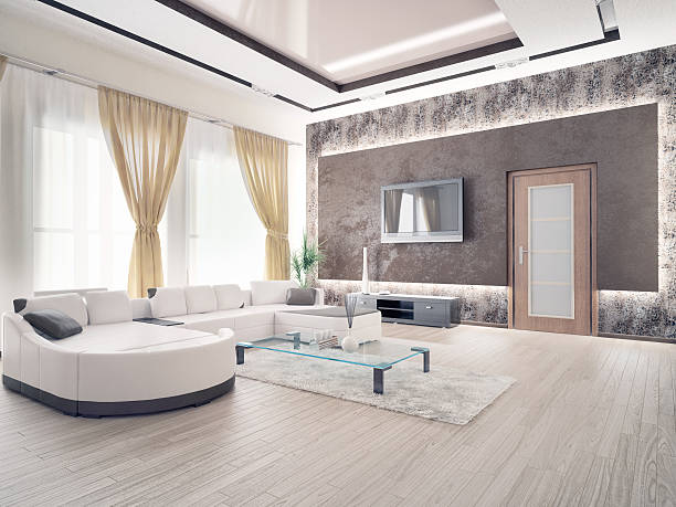 laminate flooring in living room.  Laminate Wood Flooring stock photo home interior modern living room Pictures Images and Stock Photos iStock