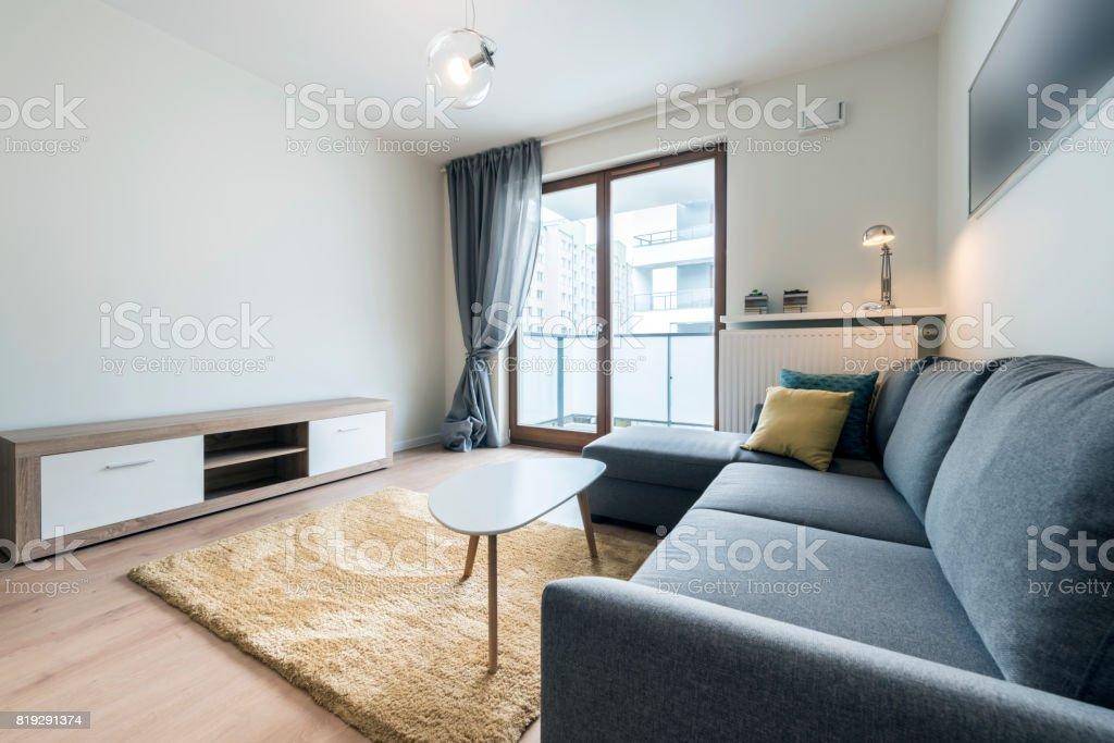 Moderne Wohnzimmer Stock-Fotografie und mehr Bilder von Architektur ...