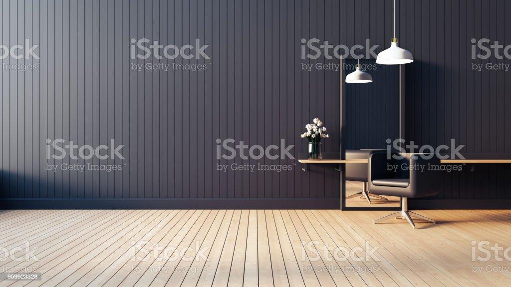 Moderne Lebenden Salon Interior 3d Rendern Bild Stockfoto und mehr ...