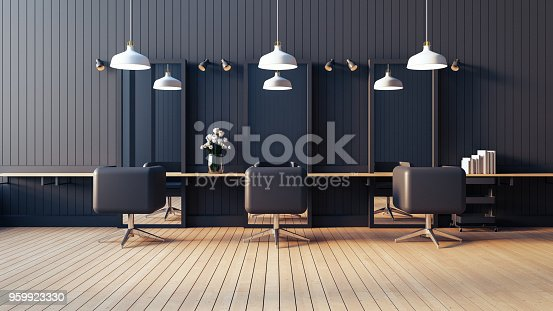 istock Modern & living salon interior / 3D render image 959923330