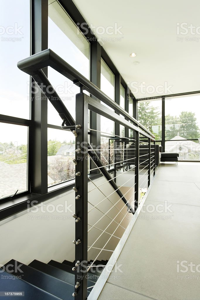 Modern Living Space Abstract stock photo