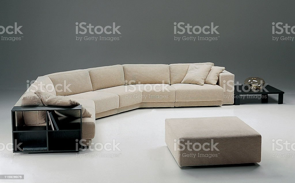 Modern livingroom | Sofa royalty-free stock photo