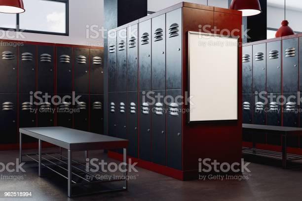 Foto de Moderno Vestiário Com Moldura Vazia e mais fotos de stock de Apartamento Tipo Loft