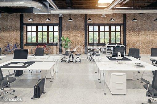 istock modern loft office interior 1021093228