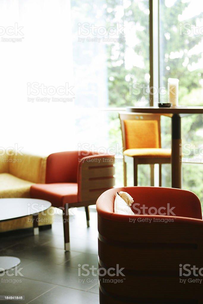 Modern lounge royalty-free stock photo