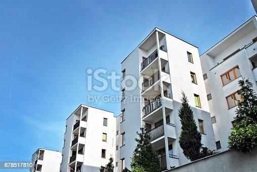680603734 istock photo Modern, Luxury Apartment Building 678517810