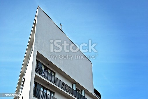 680603734 istock photo Modern, Luxury Apartment Building 678545356
