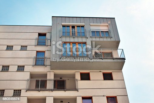 680603734 istock photo Modern, Luxury Apartment Building 680545574