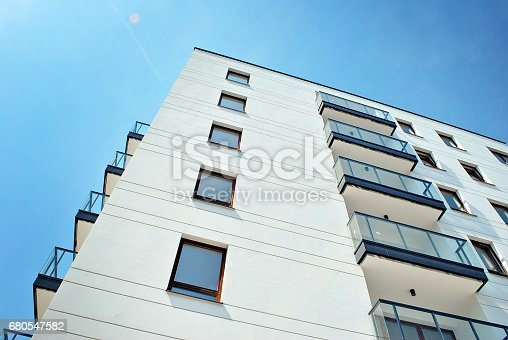 680603734 istock photo Modern, Luxury Apartment Building 680547582