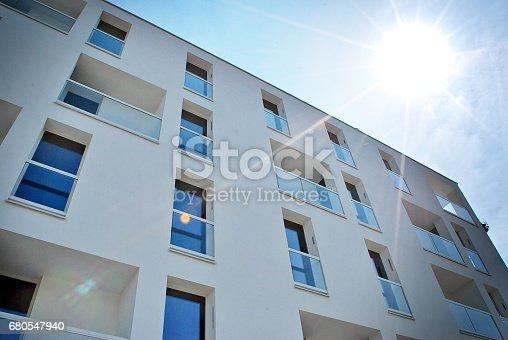 680603734 istock photo Modern, Luxury Apartment Building 680547940