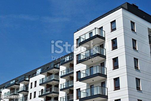 680603734 istock photo Modern, Luxury Apartment Building 680548412