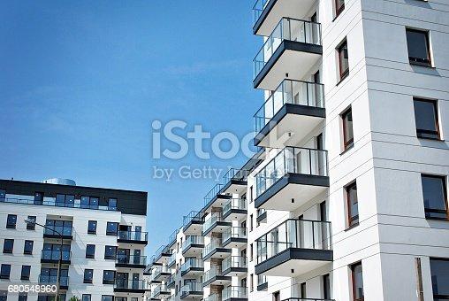 680603734 istock photo Modern, Luxury Apartment Building 680548960