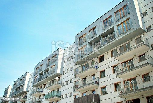 680603734 istock photo Modern, Luxury Apartment Building 680549016