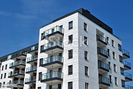 680603734 istock photo Modern, Luxury Apartment Building 680552602
