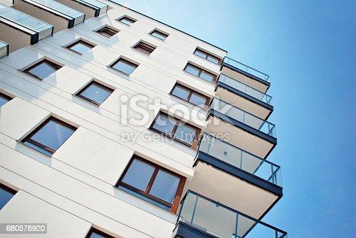 680603734 istock photo Modern, Luxury Apartment Building 680578920