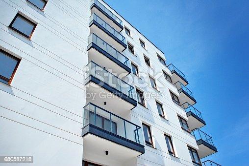 680603734 istock photo Modern, Luxury Apartment Building 680587218