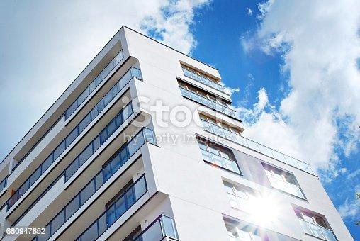 680603734 istock photo Modern, Luxury Apartment Building 680947652