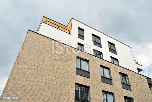 680603734 istock photo Modern, Luxury Apartment Building 684070452