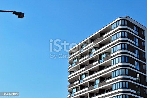 680603734 istock photo Modern, Luxury Apartment Building 684078822