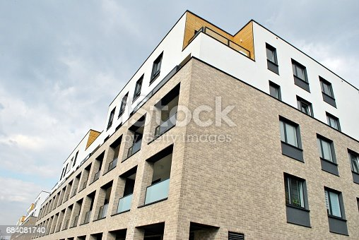 680603734 istock photo Modern, Luxury Apartment Building 684081740