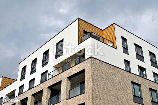 680603734 istock photo Modern, Luxury Apartment Building 684082854