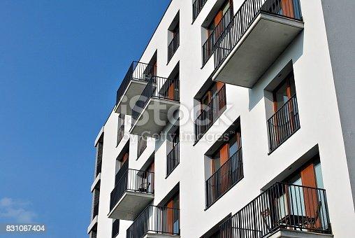 680603734 istock photo Modern, Luxury Apartment Building 831067404