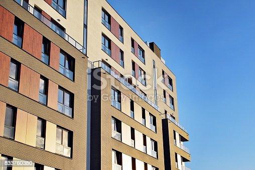 680603734 istock photo Modern, Luxury Apartment Building 833760380