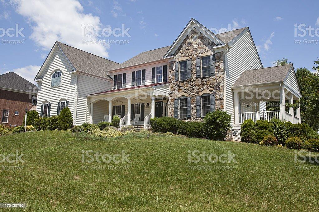 Modern Luxury Home royalty-free stock photo
