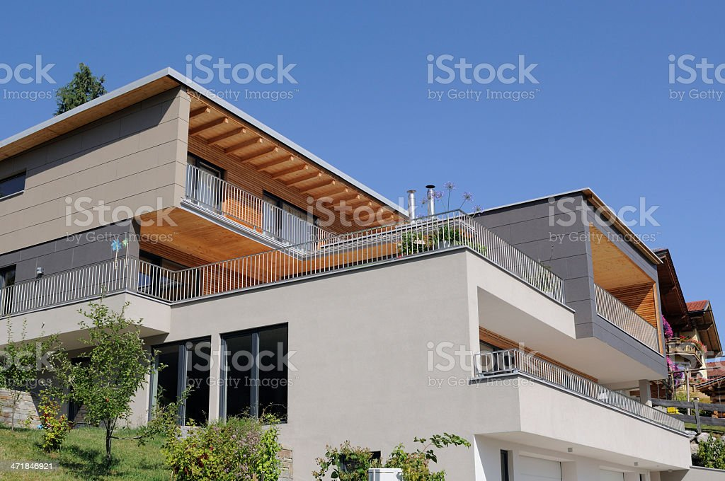Modern luxury house royalty-free stock photo