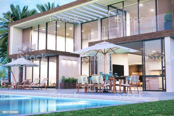 Modern luxury house with swimming pool picture id960768668?b=1&k=6&m=960768668&s=612x612&h=hdqngvfklasndworinf6pbg0jrzeo r4bsvnrhyn3ea=