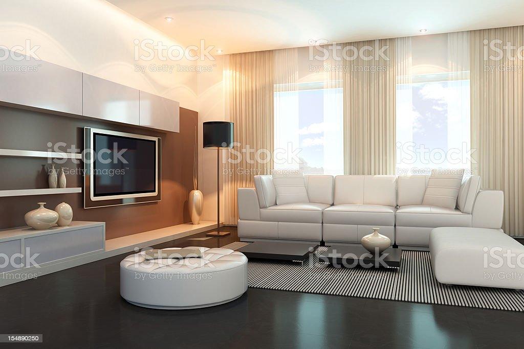 Modern Luxury Penthouse royalty-free stock photo
