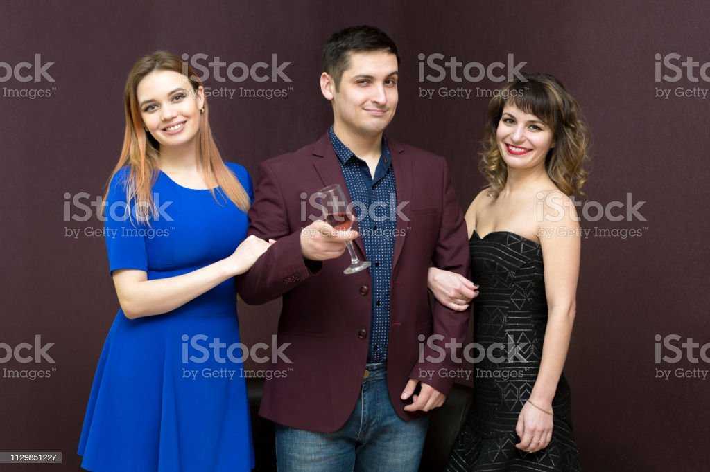 Modern man Alfonso, attractive. stock photo