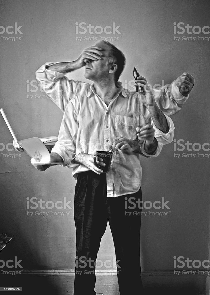 modern man royalty-free stock photo