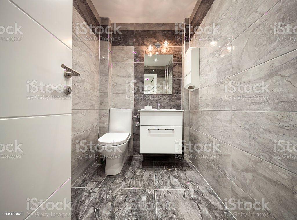Moderne Badezimmer Interieur Lizenzfreies Stock Foto