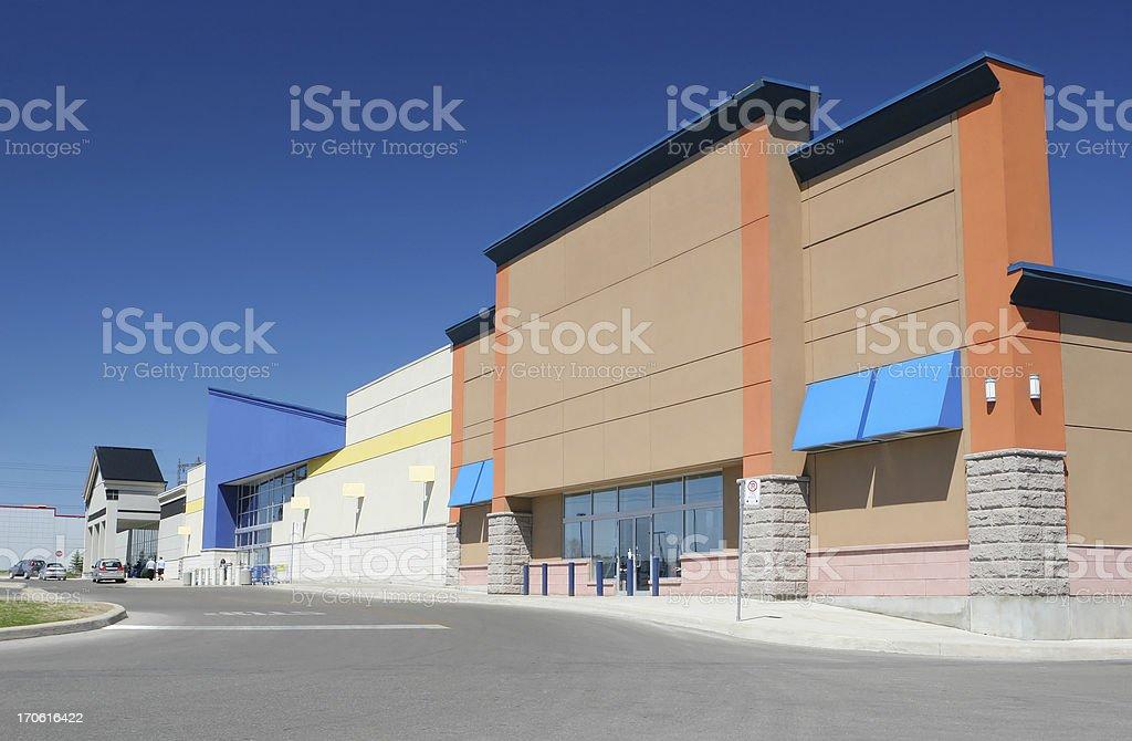 Modern Marketplace stock photo