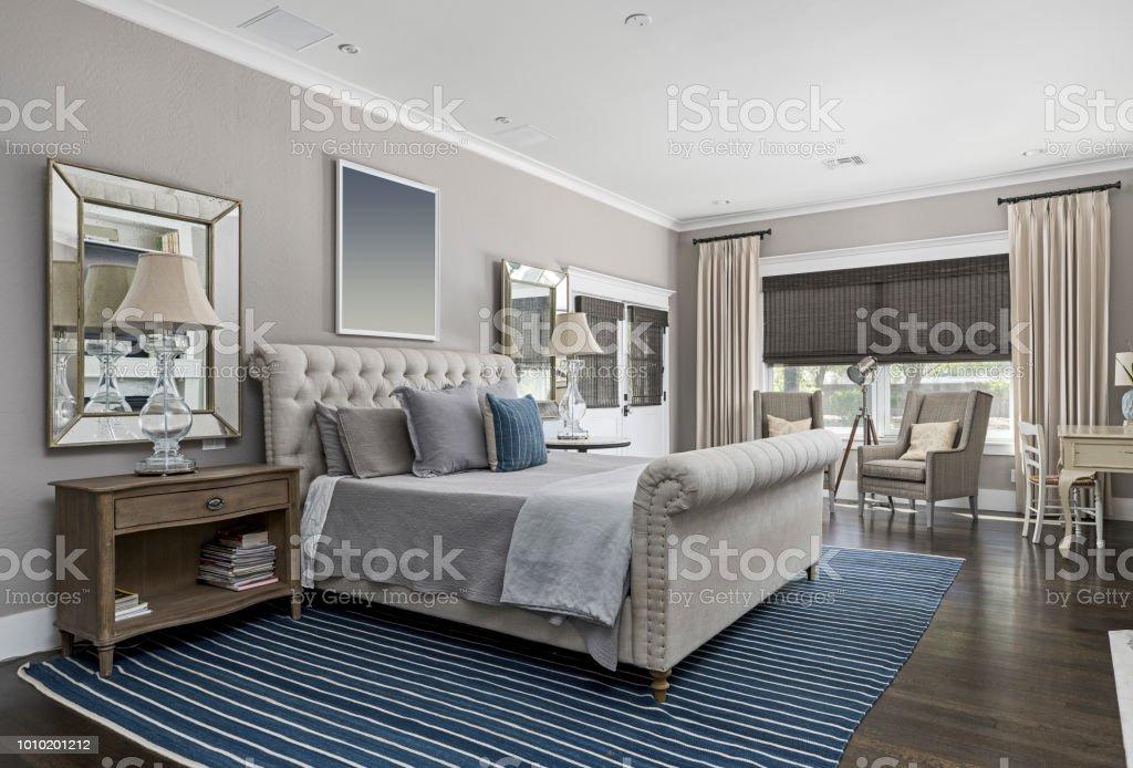 Modern Master Bedroom Stock Photo Download Image Now Istock