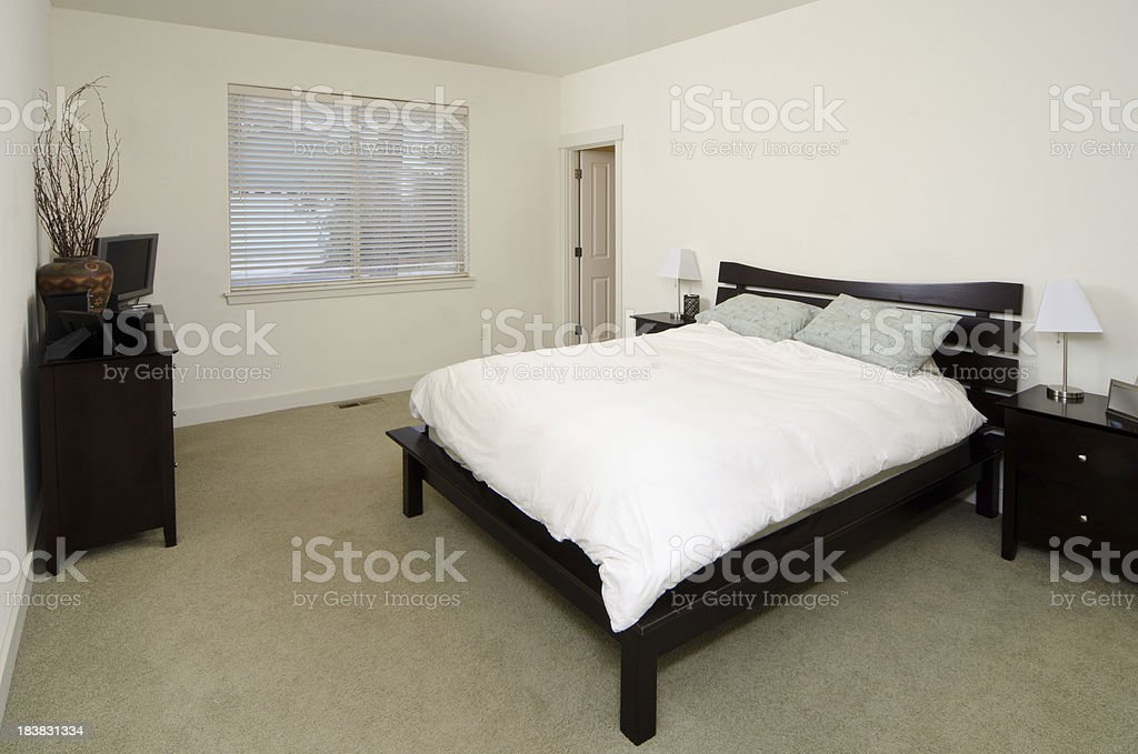 Modern Master Bedroom With Dresser Stock Photo Download Image Now Istock