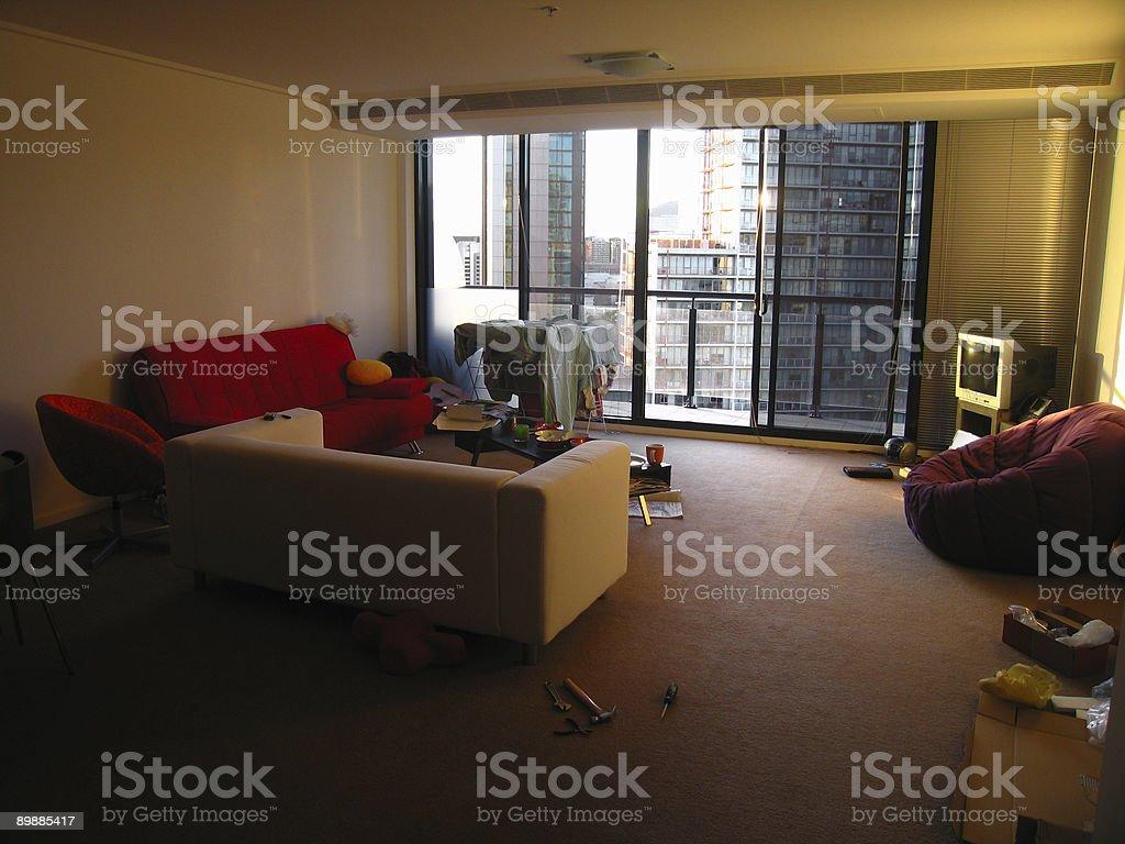 Современные апартаменты Мельбурн Стоковые фото Стоковая фотография